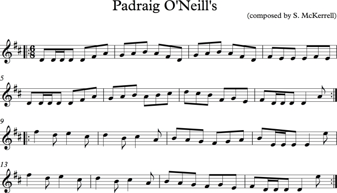 Padraig O'Neill's_result